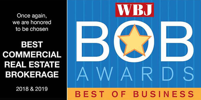 """Best Commercial Real Estate Brokerage"" 2019"